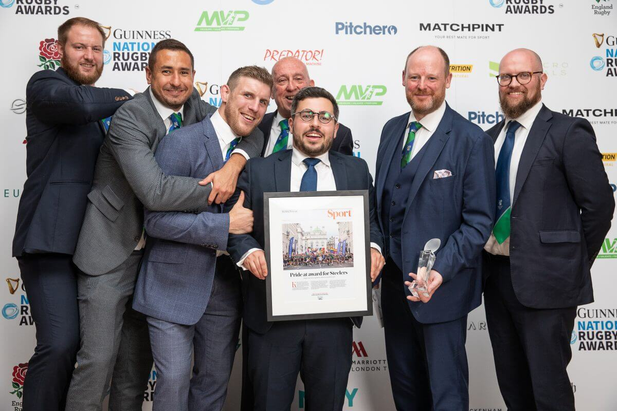 National Rugby Awards Mens team of the year
